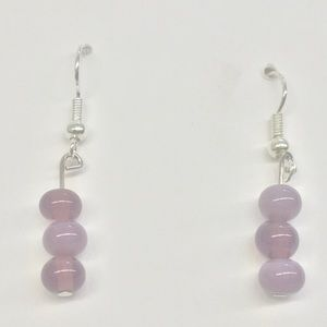 Nwt boutique glass earrings